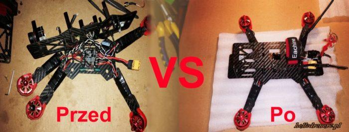 Budowa drona FPV. Standardy kiedyś i dziś.