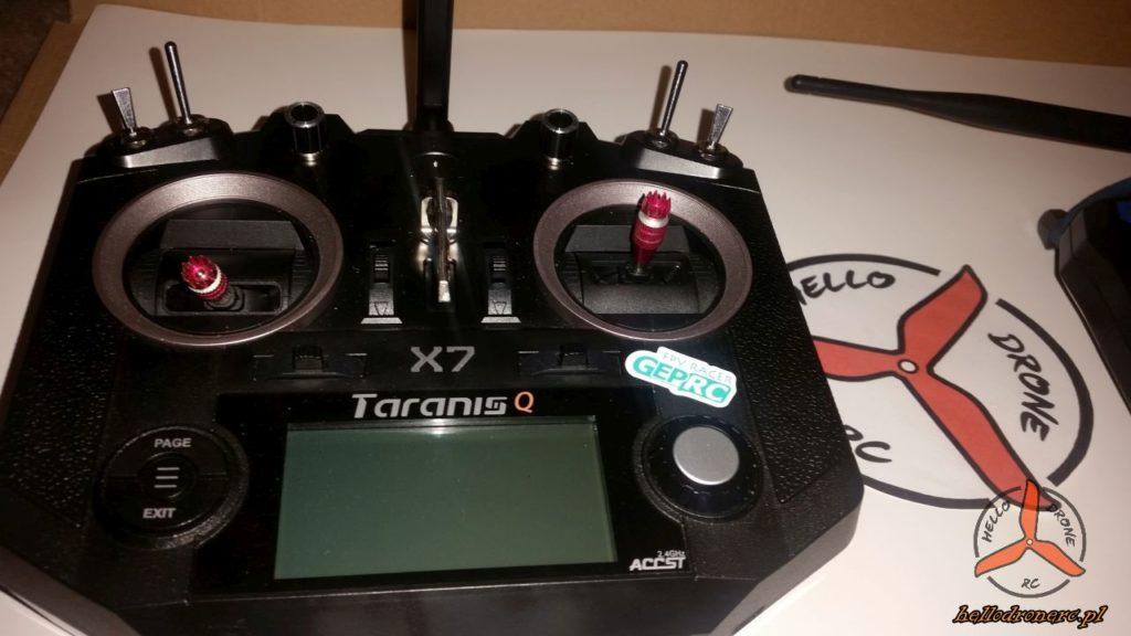 TARANIS XQ7 - flysky fs-i6 stickers