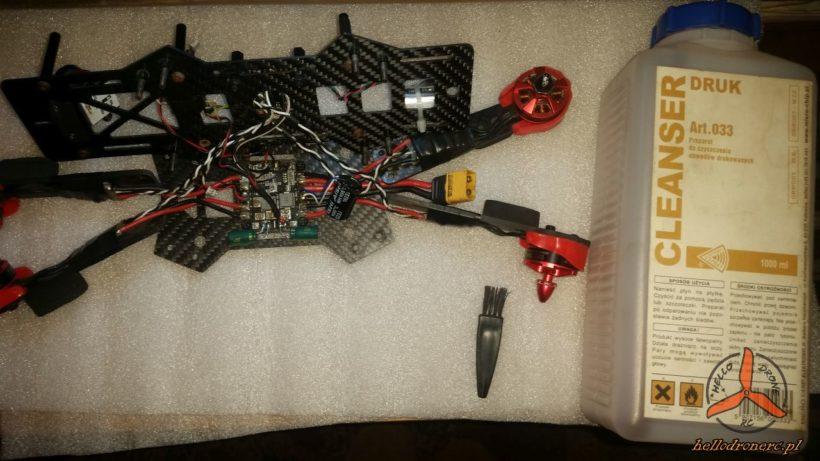 Lakierowanie elektroniki dron