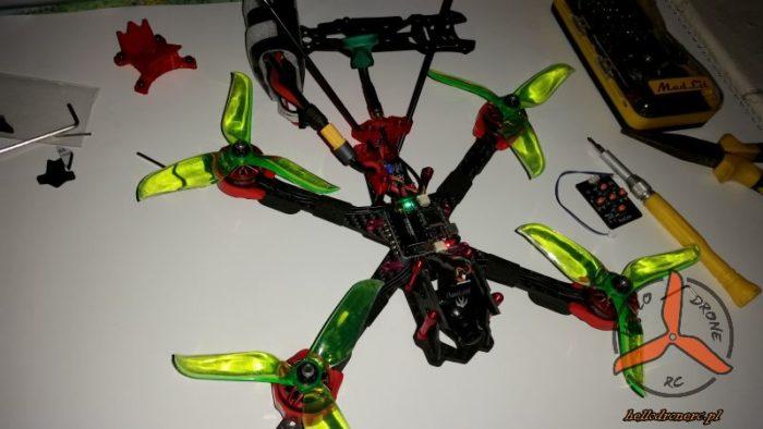 budowa drona wyścigowego geprc mark 2