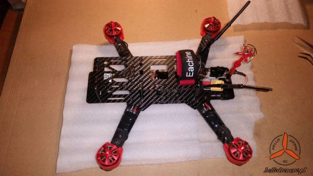zbudowany dron fpv 250