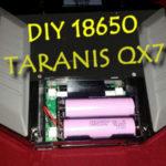 DIY zasilanie 18650 dla FRSKY TARANIS QX7 /QX7S