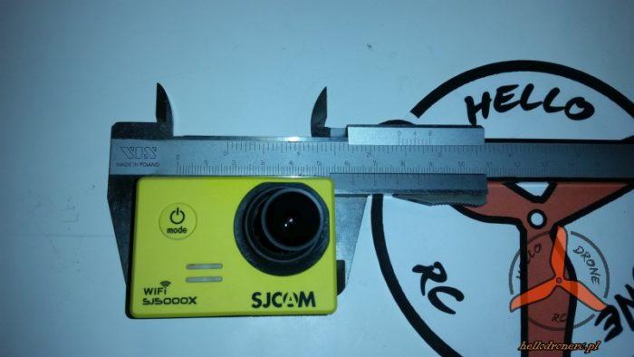 SJCAM SJ5000X ELITE - szerokosc