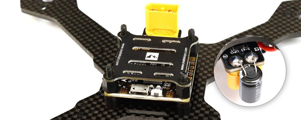 Kondensator filtracja kontroler lotu FC
