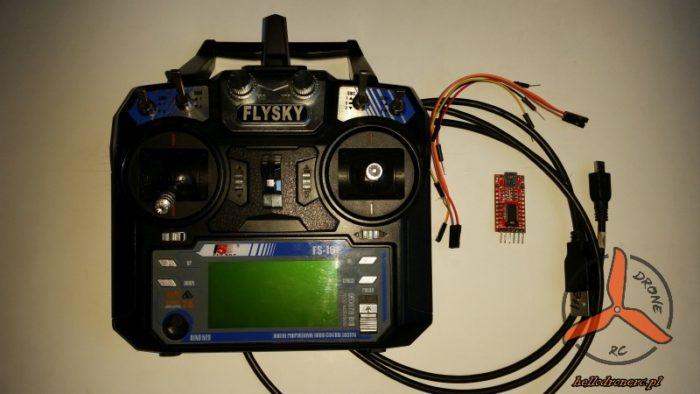 FLYSKY FS-I6 MOD 10CH FTDI232