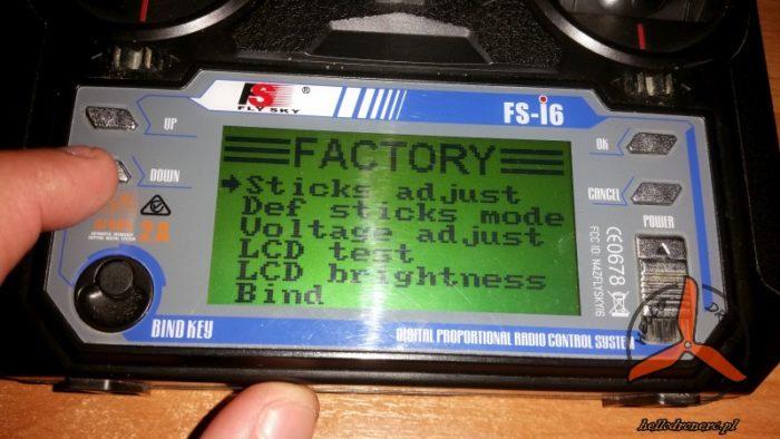 FLYSKY FS-I6 Factory mode 1