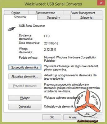 FTDI USB serial converter drivers