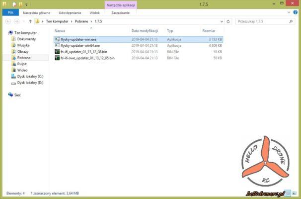 Folder FW 10CH MOD RSSI