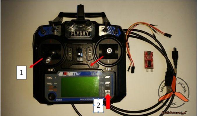 FLYSKY FS-I6 Factory mode