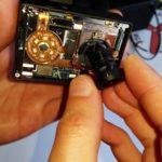 Korekcja ostrości i wymiana obiektywu kamer