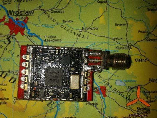 VTX EACHINE TS5828 inside 600mW