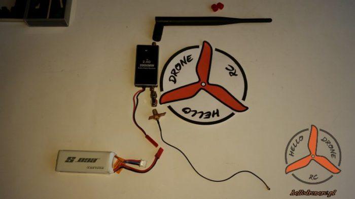 Wzmacniacz sygnalu 2.4 ghz aparatura rc czesci