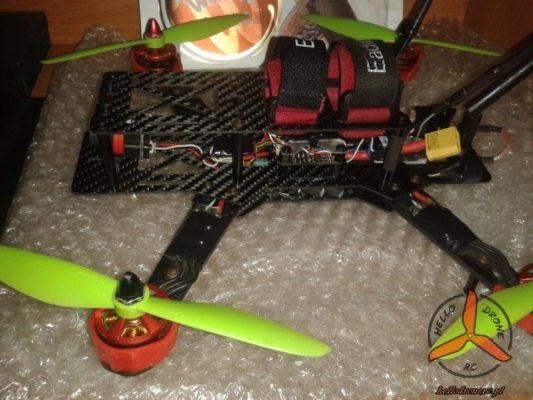 Kondensatory filtracja FPV dron