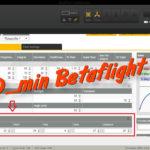 D_min Betaflight - nowy sposób ustawiania PID -ów