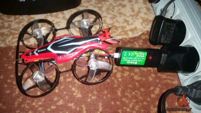 eachine e013 plus - ładowanie baterii LiPo