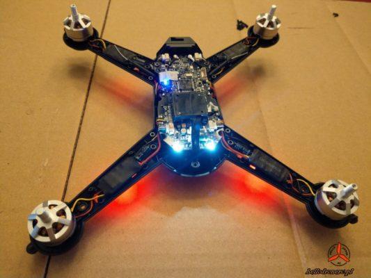 MJX Bugs 5w antenna mount drone