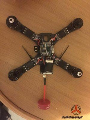 Montaż anten dron FPV RC antenna mount