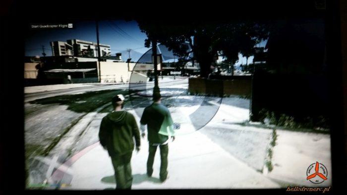 GTA V sim mode FPV 1