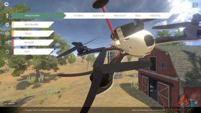 nauka latania dronem Symulator lotu dronem
