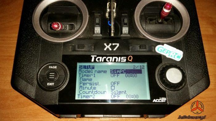 TRANIS QX7 symulator lotu drone simulator 02