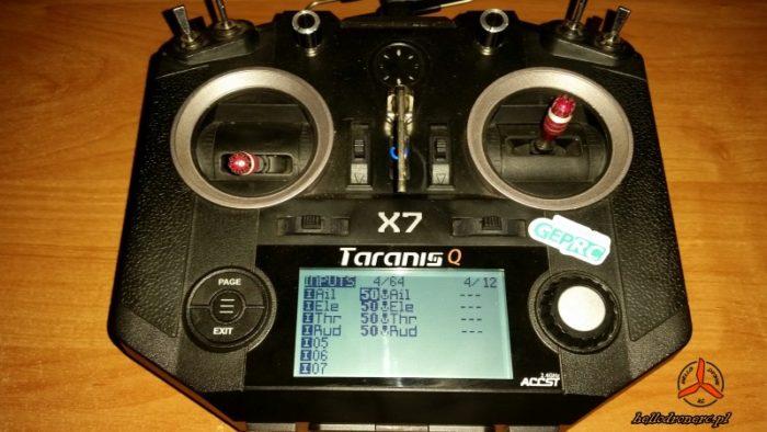 TRANIS QX7 symulator lotu drone simulator 06