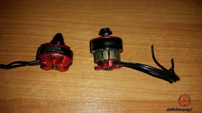Silnik drona bezszczotkowy brushless motor drone 2204 2207