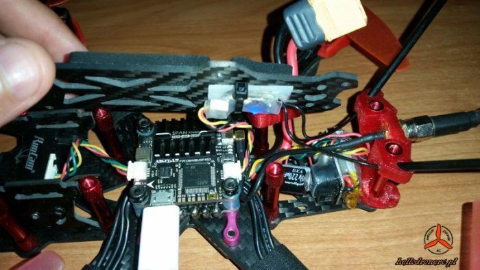 FRSKY R-XSR geprc mark 2 dron fpv