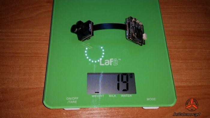 Waga kamery Caddx Tarsier weight