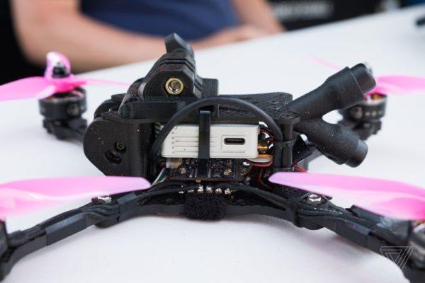 dji digital fpv air unit 5.8 w dronie wyścigowym