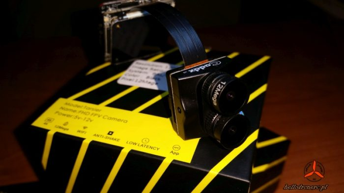 Caddx Tarsier - kamera HD 4k i FPV w jednym - recenzja