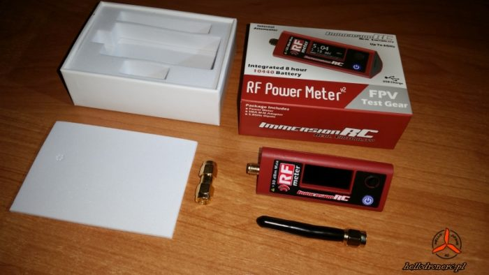 ImmersionRC RF Power Meter v2 box