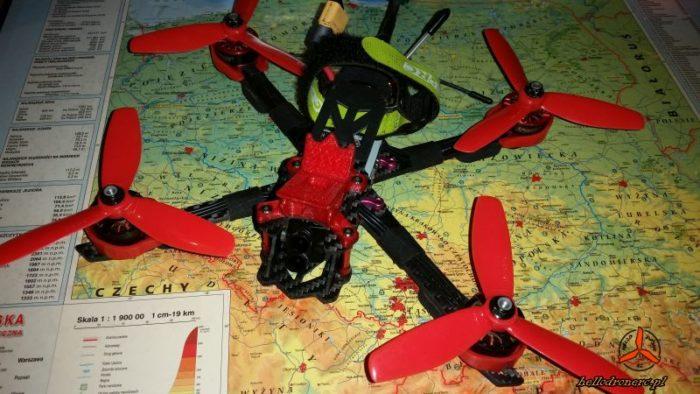 kierunek obrotu silników blheli betaflight dron fpv geprc