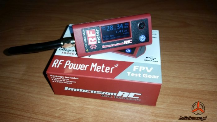 Recenzja ImmersionRC RF Power Meter v2 fpv test