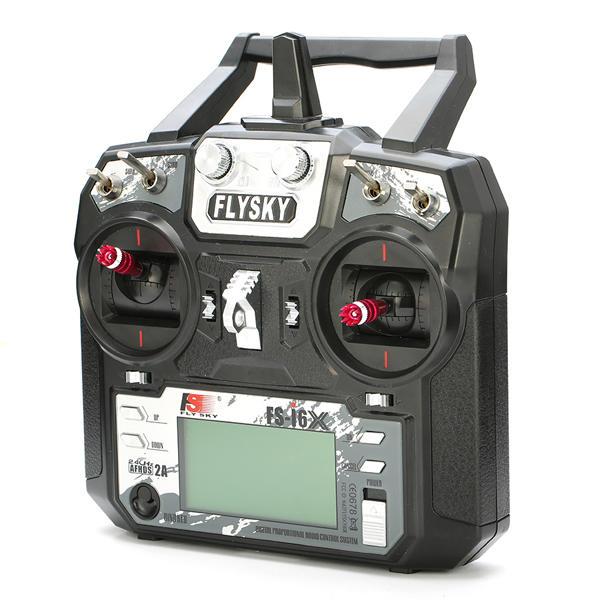 aparatura rc dron wyścigowy fpv Flysky i6X FS-i6X 2.4GHz 10CH