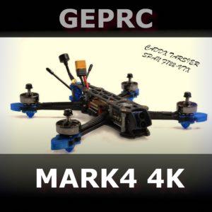 GepRC Mark4 4K - dron wyścigowy z Caddx Tarsier v2