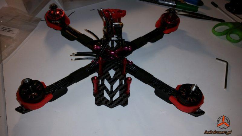 Różne silniki w dronie - wnioski