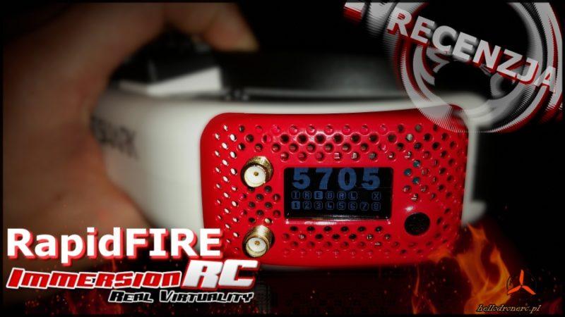 ImmersionRC rapidFIRE - diversity FPV 5.8GHZ. Recenzja