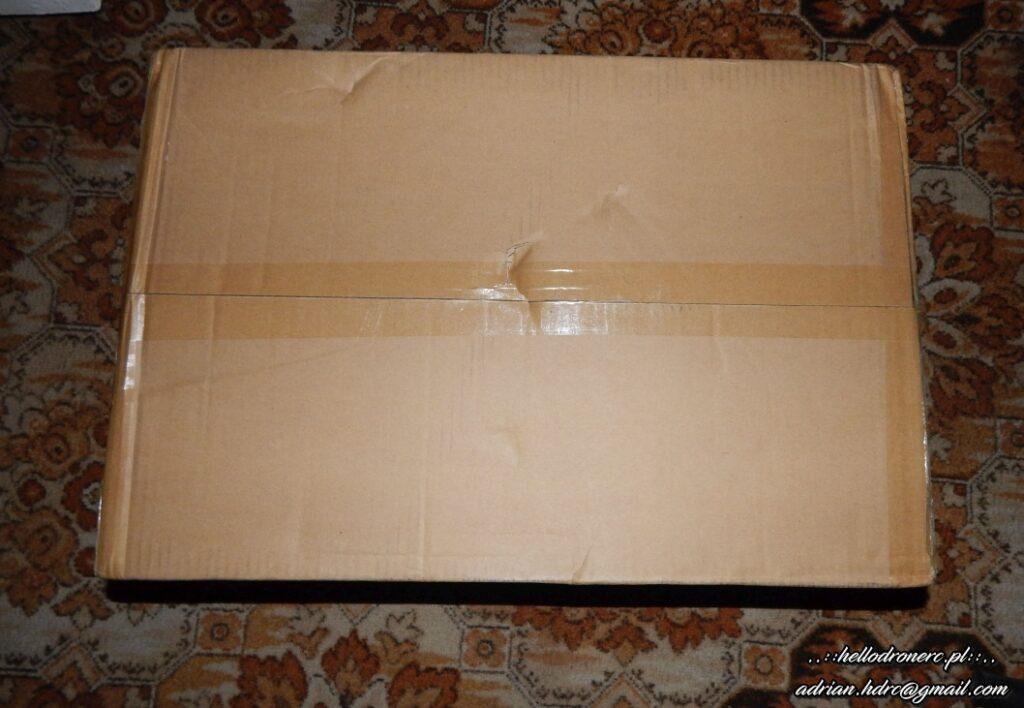ender 3 v2 box - opakowanie front