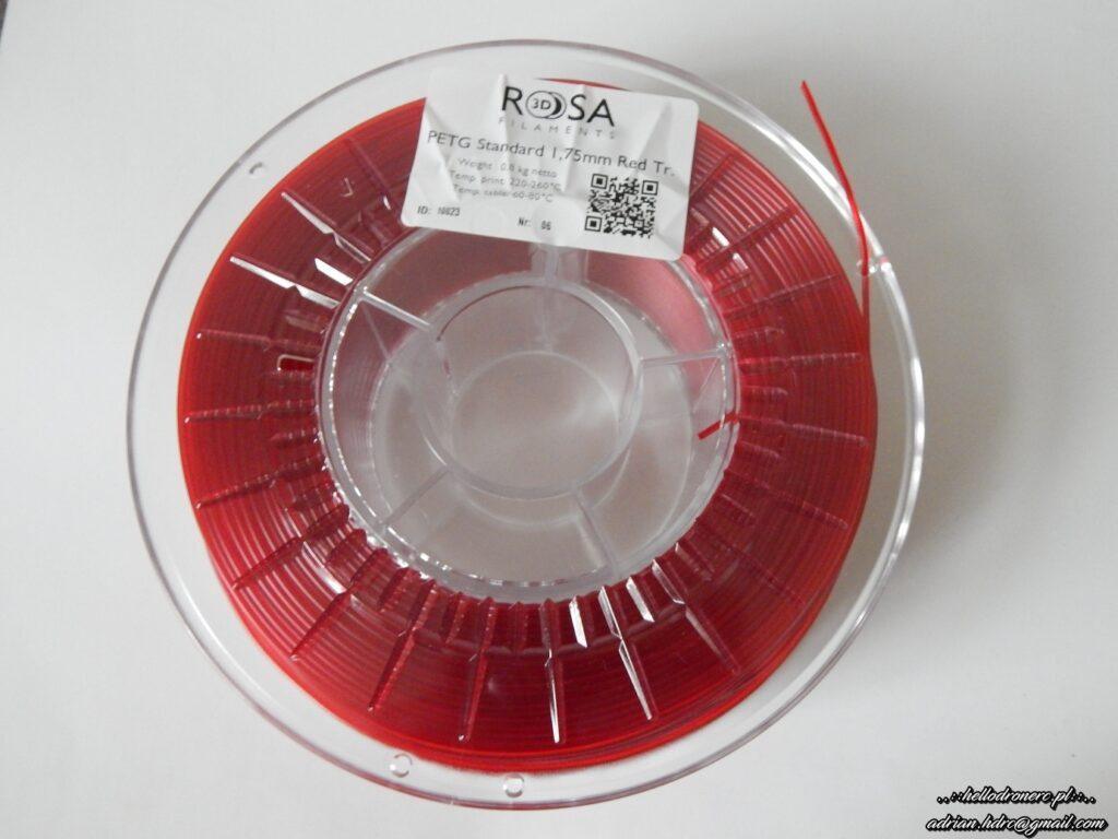 ROSA3D filament 1.75mm PETG RED