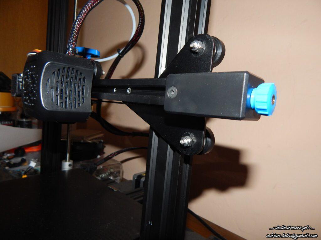 naciąg paska osi x drukarka 3d