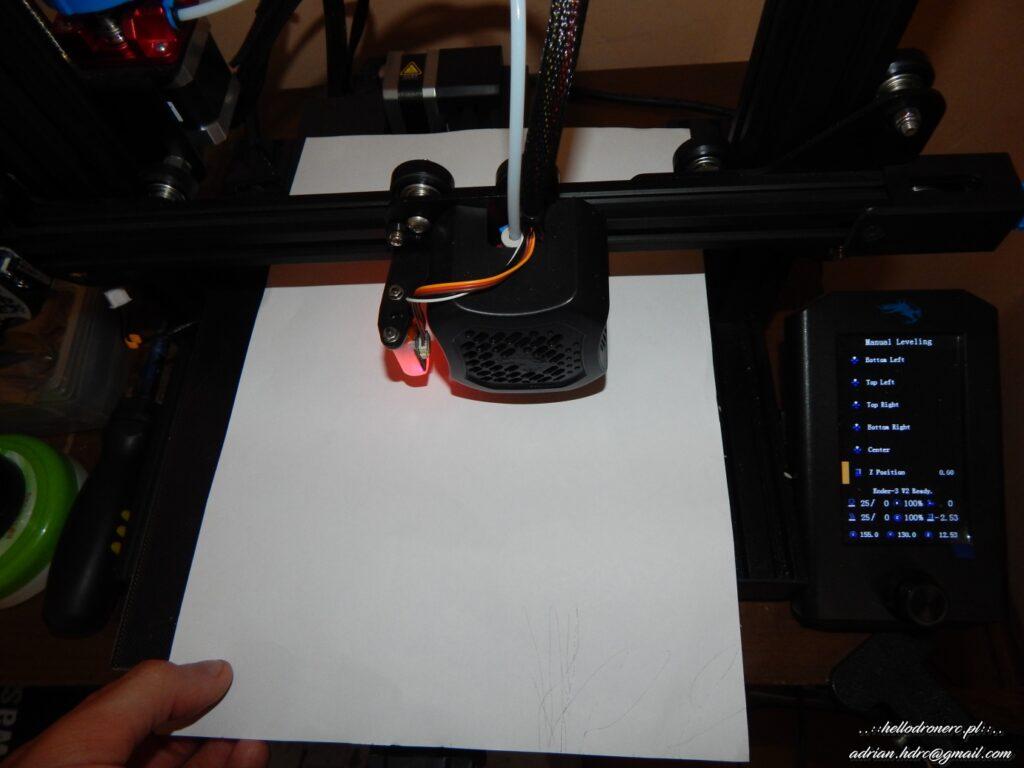 poziomowanie stołu drukarka 3d ender