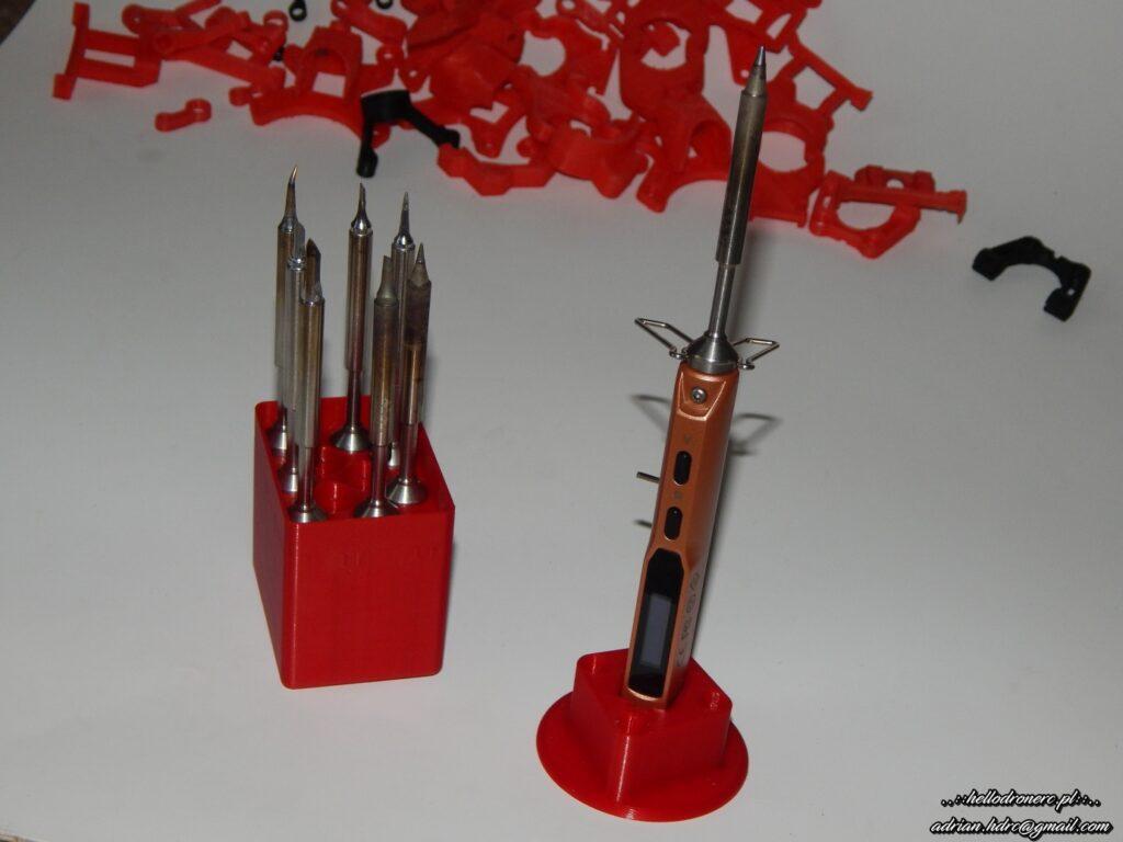 ts-100 i druki 3d - filament rosa3d pla karmin red